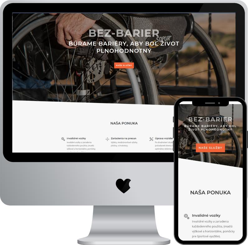 bez-barier.sk | predaj a inštalácia pomôcok a zariadení pre telesne hendikepovaných